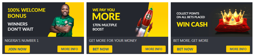 Bet9ja Bonuses