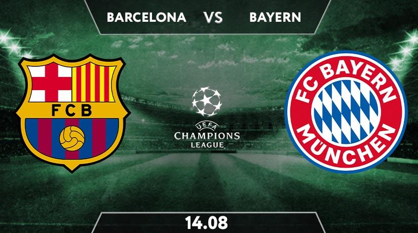 UEFA Match Prediction Between Barcelona vs Bayern Munchen