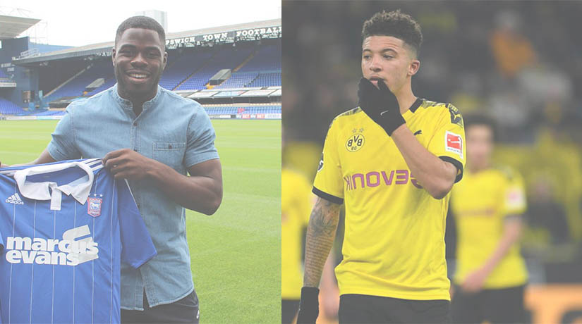Nigerian Agent Obasi is hopeful his excited client Manchester United target Jadon Sancho completes Old Trafford Move