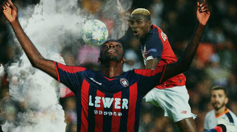 Simeon Nwankwo and Victor Osimhen
