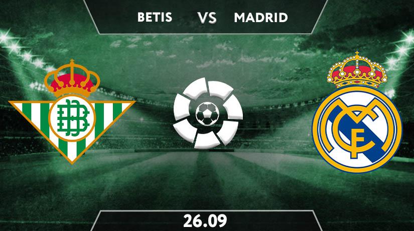 Real Betis vs Real Madrid  Preview Prediction: La Liga Match on 26.09.2020