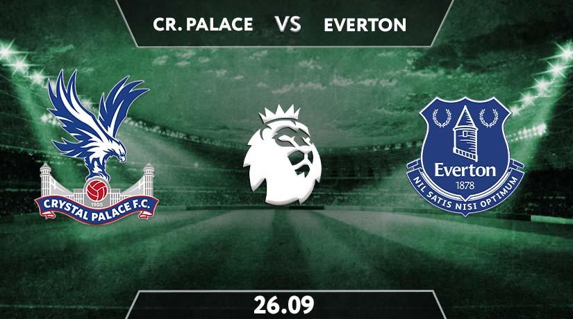 Crystal Palace vs Everton Prediction: Premier League Match on 26.09.2020