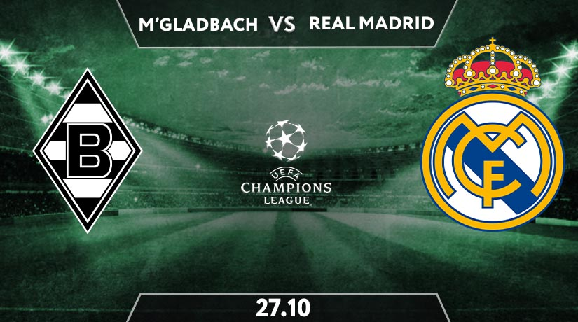 Borussia M'Gladbach vs Real Madrid Preview Prediction: UEFA Champions League Match on 27.10.2020