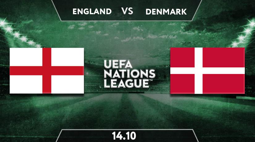 Nations League Match Prediction between England vs Denmark