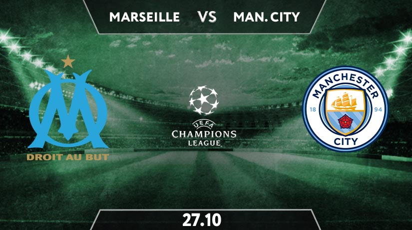 Marseille vs Manchester City Preview Prediction: UEFA Champions League Match on 27.10.2020