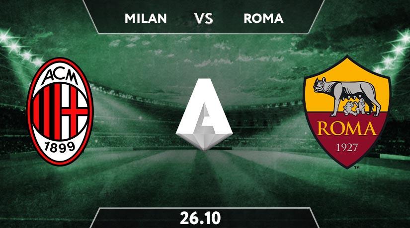 Serie A Match Prediction between Milan vs Roma