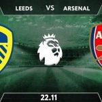 Leeds United vs Arsenal    Prediction: Premier League Match on 22.11.2020