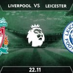 Liverpool vs Leicester City  Prediction: Premier League Match on 22.11.2020