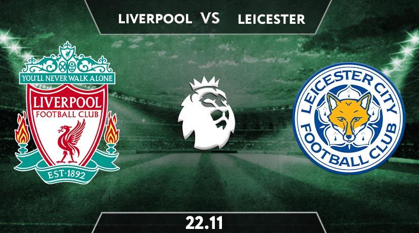 Premier League Match Prediction between Liverpool vs Leicester