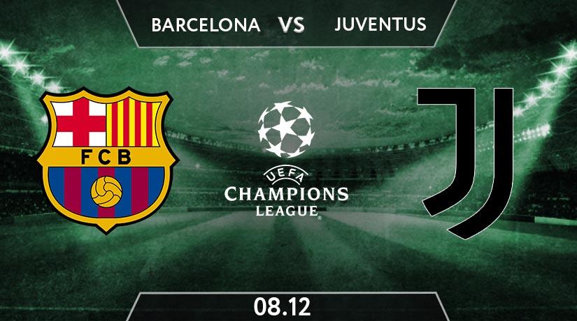 UEFA Champions League Match Prediction Between Barcelona vs Juventus
