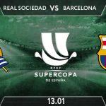 Real Sociedad vs Barcelona Prediction: Supercopa de Espana  Match on 13.01.2021