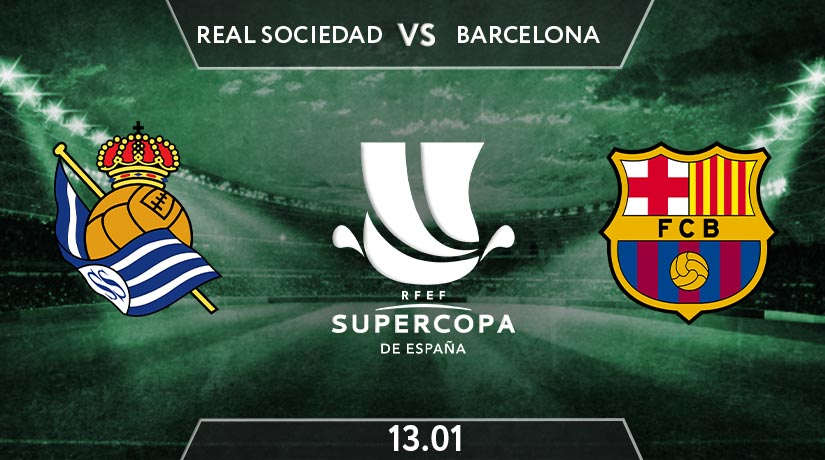 Supercopa de Espana Match Prediction Between Real Sociedad vs Barcelona