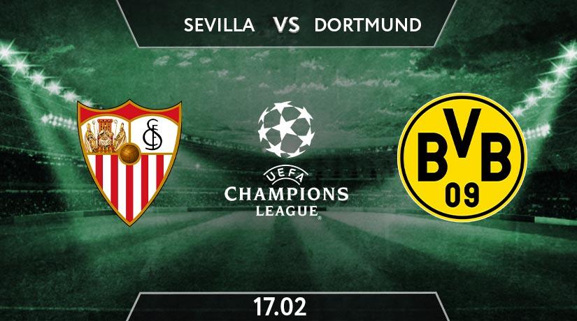 UEFA Champions League Match Prediction Between Sevilla vs Borussia Dortmund