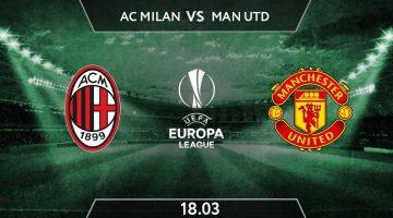UEFA Europa League Match Prediction Between AC Milan vs Manchester utd
