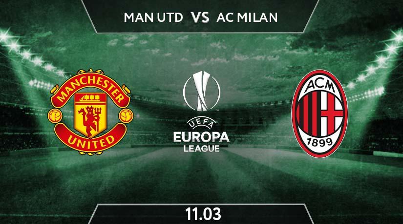 UEFA Europa League Match Prediction Between Manchester United vs AC Milan