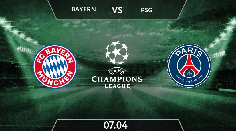 UEFA Champions League Match Prediction Between Bayern vs PSG