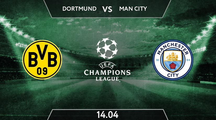UEFA Champions League Match Prediction Between Borussia Dortmund vs Manchester City