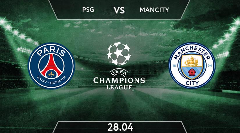 UEFA Champions League Match Prediction Between PSG vs Manchester City