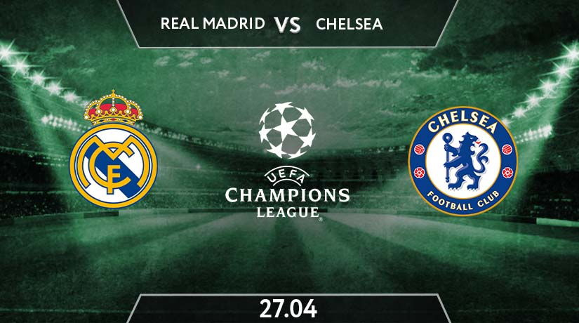 UEFA Champions League Match Prediction Between Real Madrid vs Chelsea